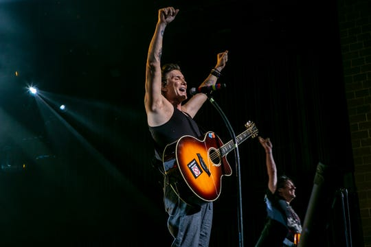 Goo Goo Dolls open for Train at Ak-Chin Pavilion on June 12 in Phoenix.