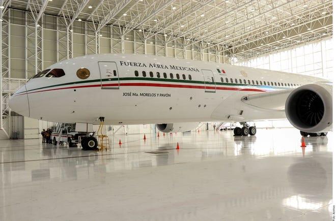 Avión presidencial de México.
