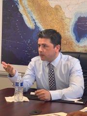 Jorge Mendoza Yescas, Cónsul General de México en Phoenix.