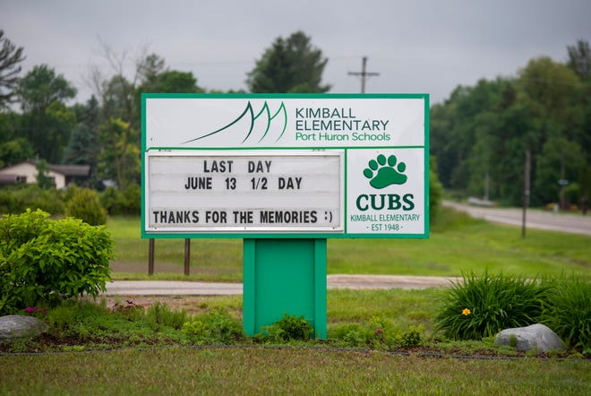 The last day of school was held at Kimball Elementary Thursday, June 13, 2019. The Port Huron Schools Board of Education voted at a special meeting in November to close the school at the end of the year.
