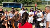 The Pine Plains softball team discusses its preparation for a third straight state final four, along with a singing performance and construction work.