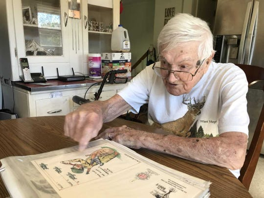 "Lawrence ""Gump"" Bolin witnessed the horrors of World War II. Now 96, he lives with his granddaughter in East Berlin, Pa."