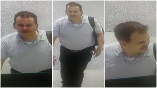 York City police are looking for this man in connection with the theft of a vehicle on June 9.