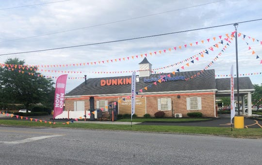 The Dunkin' and Baskin Robbins in Shrewsbury is located at 549 S. Main Street.