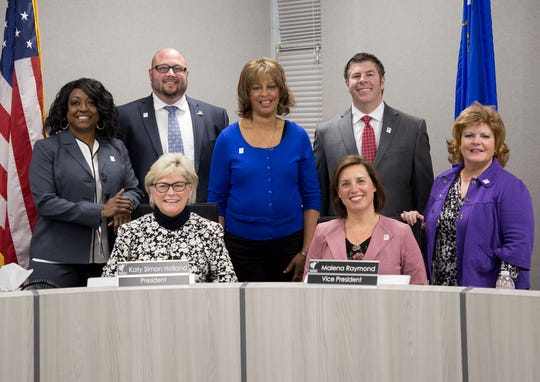 The current Washoe County School Board