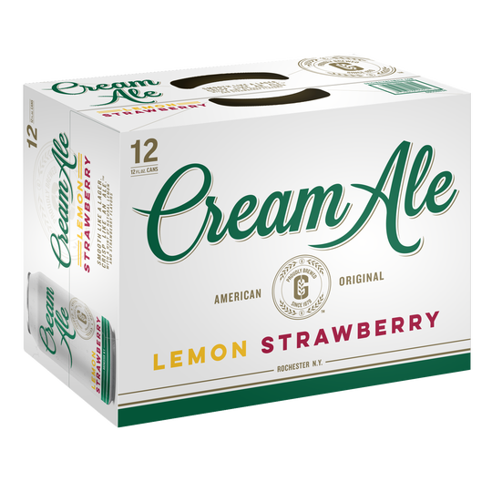 Genesee Lemon Strawberry Cream Ale 12 pack.