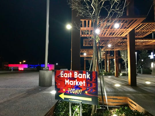 East Bank Market will now be held on the last Tuesday of each month as a Night Market.