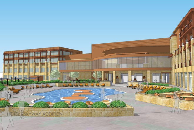 Grand Falls Casino and Golf Resort is planning to expand its hotel and add multiple amenities with a $10 million project starting at the end of June, according to a news release Thursday.