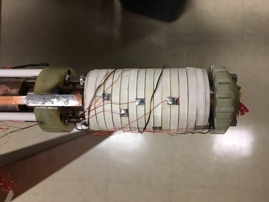 This little superconducting magnet, about the size of an empty toilet tissue roll, helped the National MagLab achieve a new world record for a continuous magnetic field.