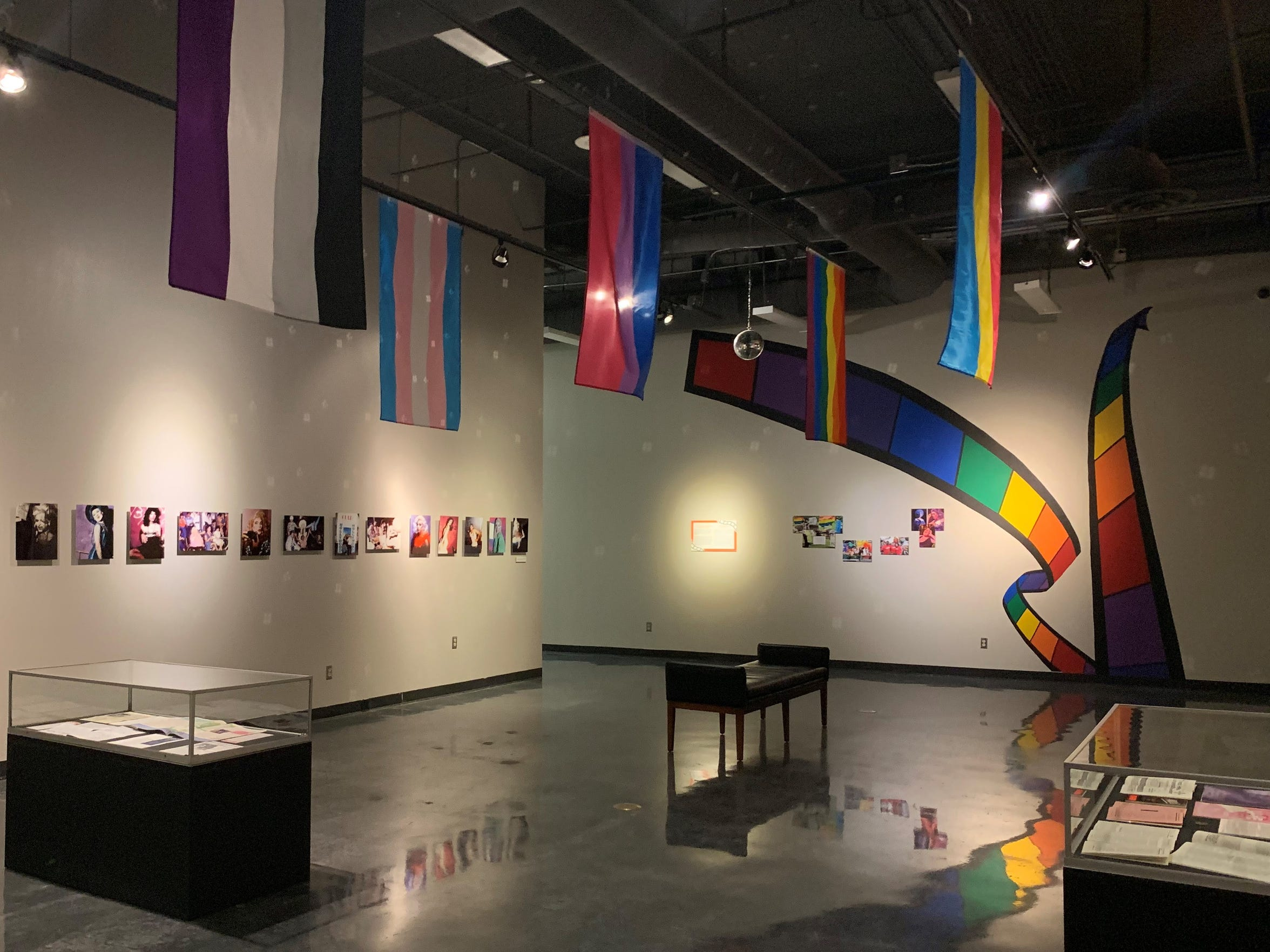 The Pride Cinema exhibit opened at the El Paso Museum of History June 1 and will run until Nov. 7.