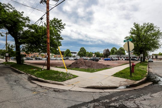 Plot of land where the Aspirus clinic will be built in connection with the YMCA expansion project. Seen on Wednesday, June 12, 2019, in downtown Wausau, Wis. T'xer Zhon Kha/USA TODAY NETWORK-Wisconsin