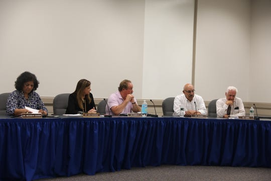 Suffern school board calls special meeting where they made a statement an employee after meeting for hours in executive session in Hillburn June 12, 2019.