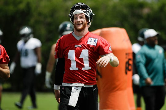 best sneakers 113f6 300a3 After 3 rocky seasons, Carson Wentz holds key to Eagles ...