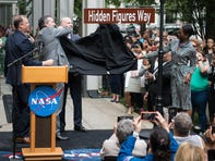 Hidden Figures Way: Street in front of NASA headquarters renamed for pioneers