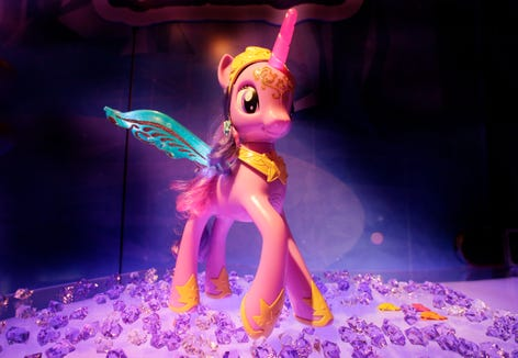 """A character in """"My Little Pony"""" will have lesbian caretakers."""