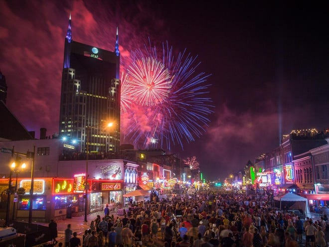 Nashville invites you to celebrate Fourth of July with free live music, fireworks and family-friendly fun.