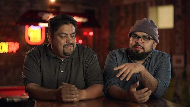 Mark and Victor shared their story for Budweiser's ad toasting stepfathers.