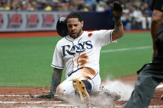 Pham joined the Rays in 2018.