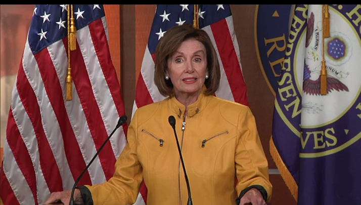 House Speaker Nancy Pelosi said that when Trump says he's open to accepting information from a foreign power against a political opponent he is showing that 'he does not know right from wrong.' (June 13)