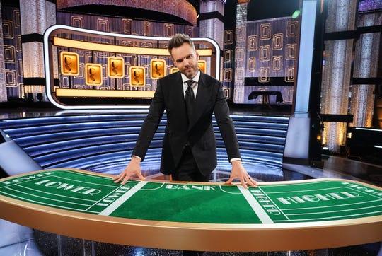 "Joel McHale hosts ABC's revival of ""Card Sharks."""