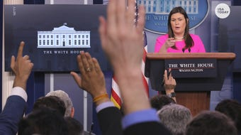 Sarah Sanders is stepping down after serving as the public face of the White House during some of the administration's most contentious chapters.