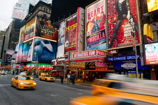 Gov. Andrew Cuomo announced Broadway theaters would shut down at 5 p.m. Thursday and all gatherings of 500 or more would be banned beginning Friday at 5 p.m.