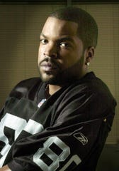 Ice Cube sits for a portrait on Sept. 5, 2002, in Los Angeles.