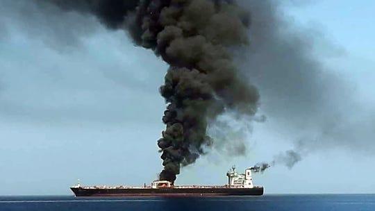 Pentagon sending 1,000 U.S. troops to Middle East after oil tanker attack