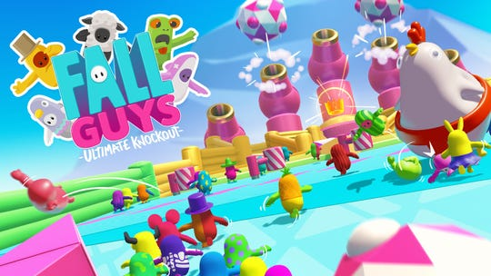 "Fall Guys: Ultimate Knockout is a humorous take on the battle royale genre with 100 cute ""fall guys"" competing in rounds of contest until one is left standing."