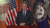 Republican House Minority Leader Kevin McCarthy is hitting back at House Speaker Nancy Pelosi, accusing Democrats of hypocrisy over foreign meddling in the 2016 presidential election. (June 13)