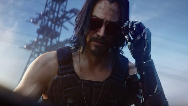 Cyberpunk 2077: One of the most hyped games at E3, CD PROJEKT RED's first-person cyberpunk role-playing game stars Keanu Reeves in one of the roles.