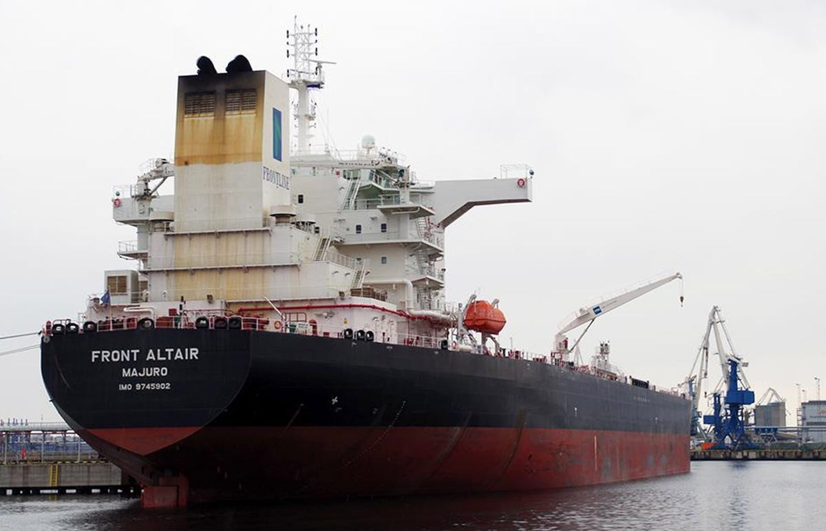 Oil tankers attacked in Gulf of Oman off Iran