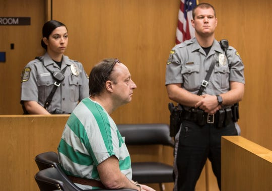 Conrad Sipa is sentenced to 45 years in prison for multiple charges including the murder of his longtime friend, Richard Doody Jr.  Toms River, NJFriday, June 14, 2019