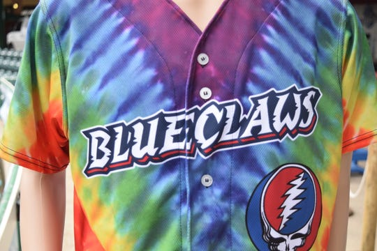 The Lakewood BlueClaws will host Grateful Dead Night on Saturday, June 22 at FirstEnergy Park.