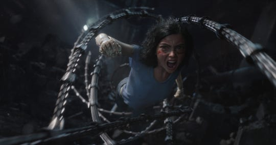 "Rosa Salazar stars as Alita in Twentieth Century Fox's ""Alita: Battle Angel."""