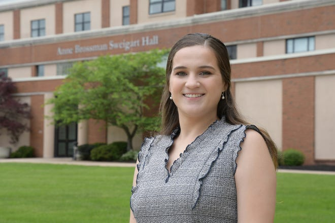 In between semesters at Rider University, she was working as a paid intern in Brooklyn, N.Y. with JPMorgan Chase's global finance and business management analyst program.