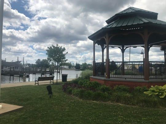 Gazebo in Huddy Park, Toms River