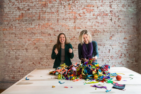 Amber Jensen and Hilary Nylander, founders of ha!, will participate in the inaugural Third Thursdays Marshall event June 20.