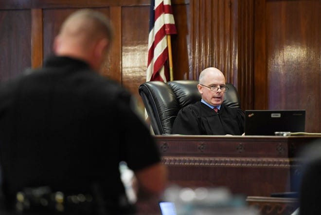 Superior Court Judge Greg Horne denied a mistrial request June 14 by lawyers for Nathaniel Dixon, who is accused of killing his pregnant girlfriend and shooting her toddler son in the face.