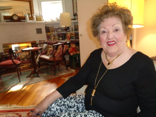 Marilyn Hanafin relaxes inside her Endicott home. She is a longtime volunteer for several charitable organizations including the Woman's Club of Endicott.