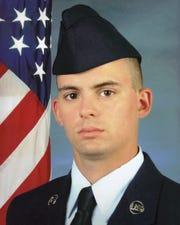 U.S. Airman Bryce Powers