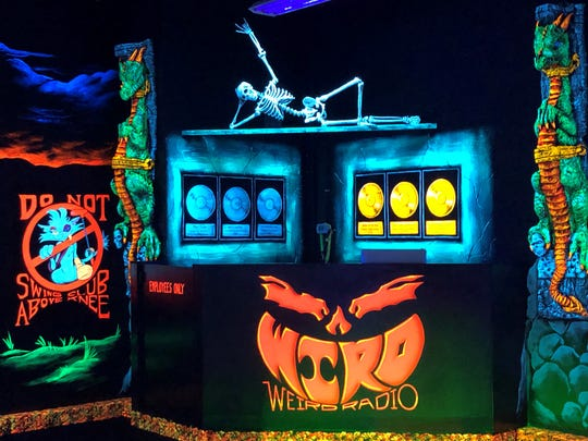Visitors to Monster Mini Golf in Cherry Hill can expect announcements of dance contests and more interactive fun from the DJ booth.