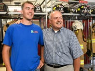 Could you send your kid into a burning house? These firefighting dads do it every day