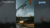 Two workers delivering pizza in Deptford came upon what looked like the formation of a funnel cloud. The National Weather Service confirmed that a tornado touched down in nearby Mullica Hill.