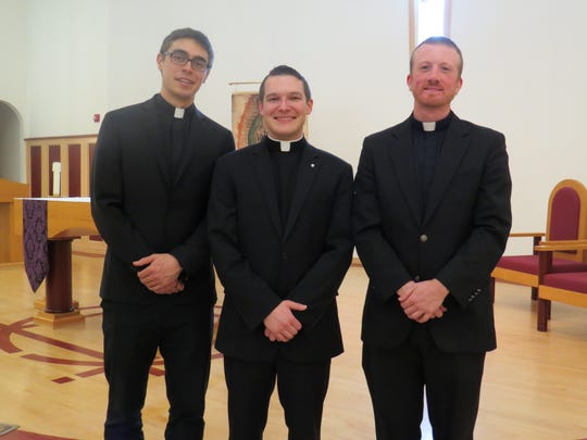 Deacons Joseph Illes, Matthew Marinelli and Michael Tabernero will be ordained  into the Diocese of Metuchen.