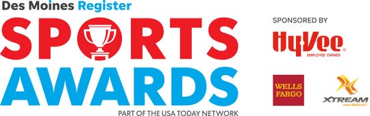 The 2019 Des Moines Register Sports awards are Friday, June 21 at Wells Fargo Arena in Des Moines