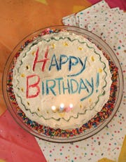 Pleasing Youre Not Getting Older Youre Just Eating Birthday Cake Personalised Birthday Cards Arneslily Jamesorg