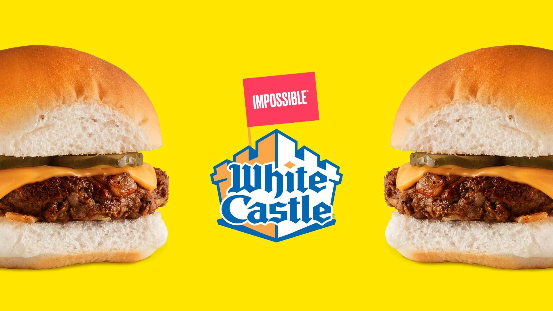 White Castle is the first national fast-food chain to offer the plant-based Impossible Burger.