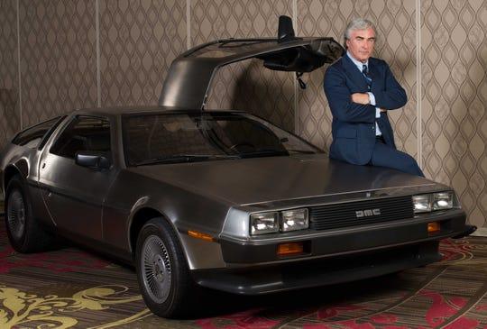"Actor Alec Baldwin plays John DeLorean in the critically-accliamed documentary, ""Framing John Delorean."""