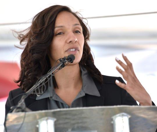 Detroit City Council Pro Tem Mary Sheffield.